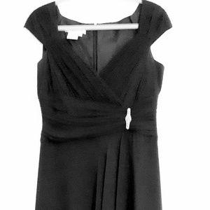 Maggie London Classic Black Cocktail Dress